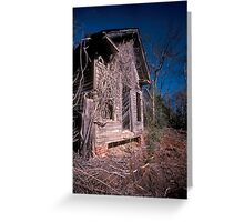 Rural Ruins Greeting Card