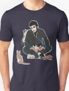 The Doctor and the Attack of Kittens Unisex T-Shirt