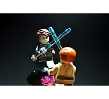 Jedi Duel Photographic Print