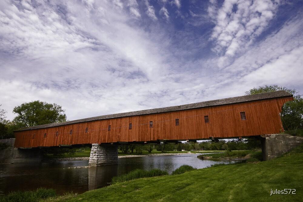 West Montrose Kissing Bridge by jules572