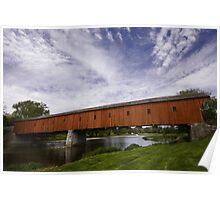 West Montrose Kissing Bridge Poster