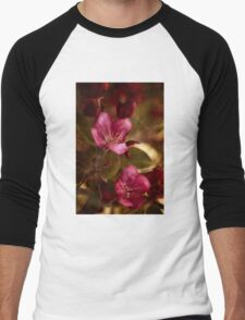 potential - velvety crababble blossoms Men's Baseball ¾ T-Shirt