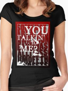 Taxi Driver - You Talkin' to Me? Women's Fitted Scoop T-Shirt