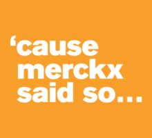 'cause Merckx said so by 42x16cc