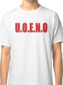 U.O.E.N.O Tee in red Classic T-Shirt