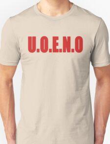 U.O.E.N.O Tee in red T-Shirt