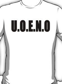U.O.E.N.O Tee T-Shirt