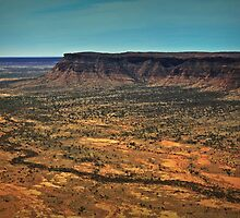 Kings Canyon ... from a helicopter. by myraj