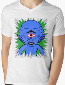 Space Cyclops Mens V-Neck T-Shirt