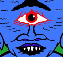 Space Cyclops Sticker