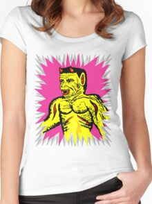 Yellow Devil Women's Fitted Scoop T-Shirt