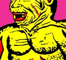 Yellow Devil Sticker