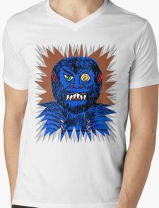 Wolfie Mens V-Neck T-Shirt