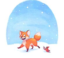 Winter Fox by Chelsea Kenna