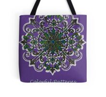 Wrought Iron pattern  Tote Bag