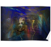 Modern expressions, abstract wallart Poster