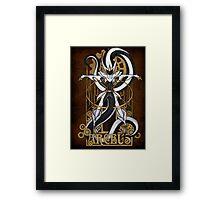 Rule 63: Arceus Framed Print