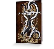 Rule 63: Arceus Greeting Card