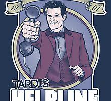 TARDIS Helpline by Darren Carnall