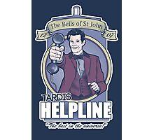 TARDIS Helpline Photographic Print