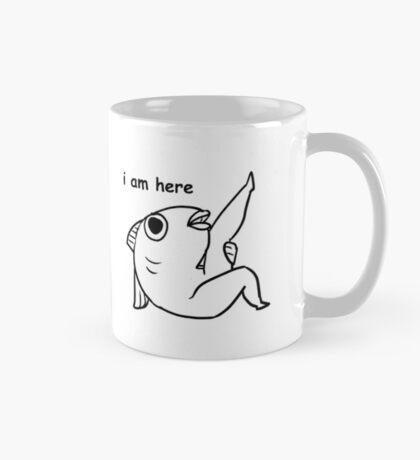 reassuring fish man Mug