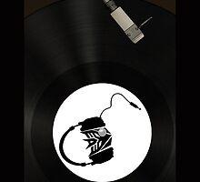 Dj Decepticon vinyl by Robert  Taylor