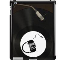 Dj Decepticon vinyl iPad Case/Skin