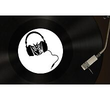 Dj Decepticon vinyl Photographic Print