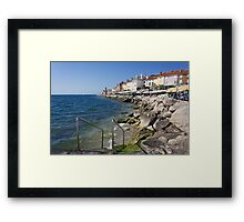 A Day On the Slovenian Coast Framed Print