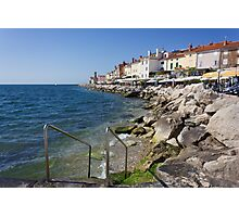 A Day On the Slovenian Coast Photographic Print