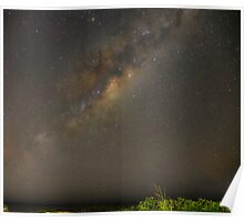 Milky Way Panorama Poster