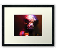 Underground Guest Framed Print