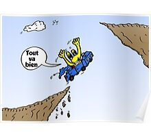Tout Va Bien Webcomic de Euroman Poster