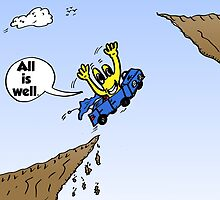 Euroman Cartoon All Is Well by Binary-Options