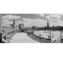Servilla Palace Panorama Photographic Print