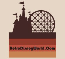 Retro Disney World Narrow Logo Shirt by aerojt