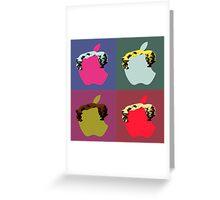 Pop Apple Greeting Card