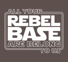 All Your Rebel Base One Piece - Short Sleeve