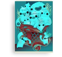 Monster Gift Canvas Print