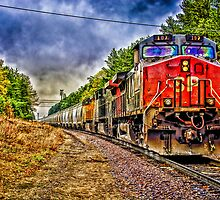 Southern Pacific 107 by Bradley Gross
