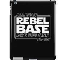 All Your Rebel Base iPad Case/Skin