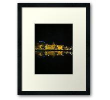 The Hobart Wharf Framed Print