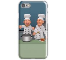 Too Many Cooks 4 - The Taste Test iPhone Case/Skin