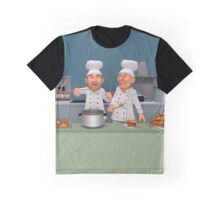 Too Many Cooks 4 - The Taste Test Graphic T-Shirt