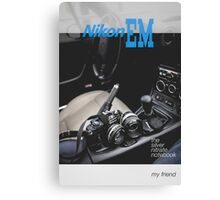 Nikon EM My Friend Canvas Print