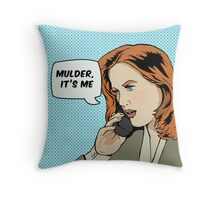 Pop Scully Throw Pillow