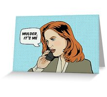 Pop Scully Greeting Card