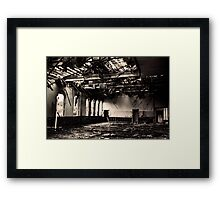 Ghost of Central Primary School Framed Print