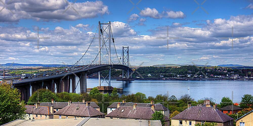 The busy bridge by Tom Gomez