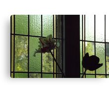 Flowers Inside and Outside! Canvas Print